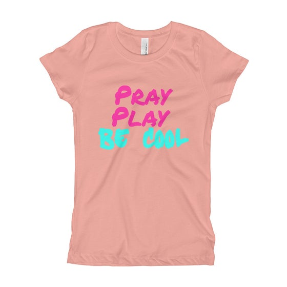 Image of Pray Play Be Cool Tee