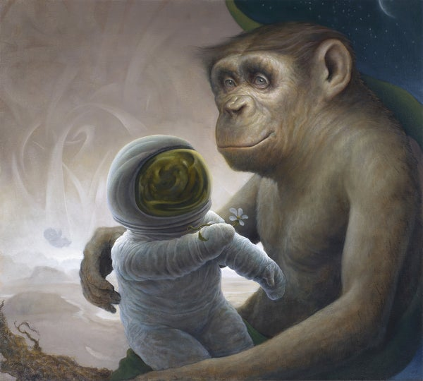 Image of Darkness of The Day Limited edition Print by Chris Leib
