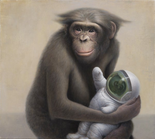 Image of Reach Out and Touch Limited Edition Print by Chris Leib