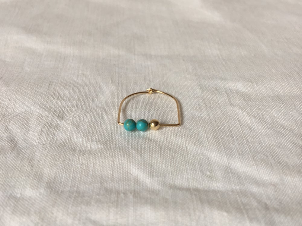 Image of Bague Lou Turquoise