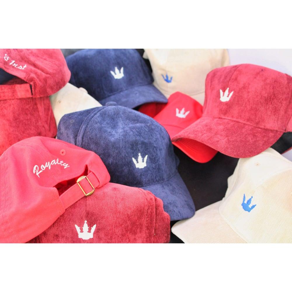"""Image of """"Queen Cap"""" Corduroy Hat"""