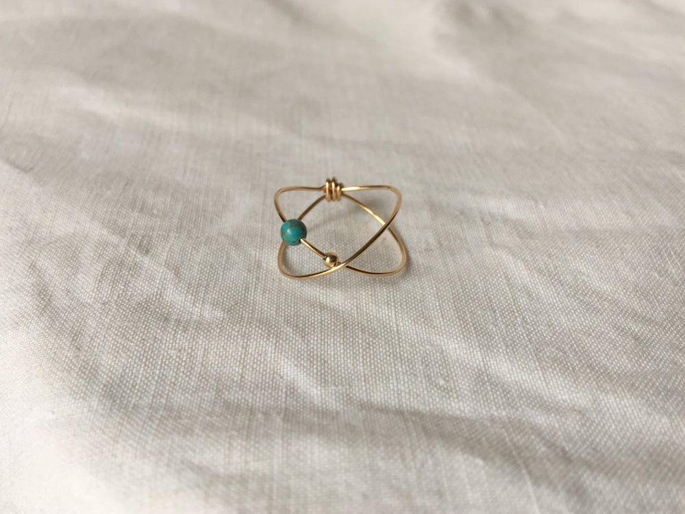 Image of Bague Stella Turquoise