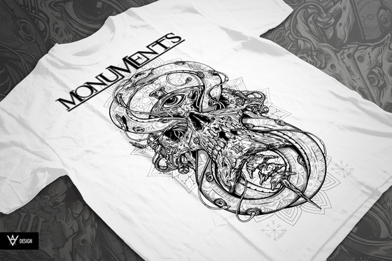 Image of *NEW* Ouroboros - The Perpetual Snake *Monochrome Variant*