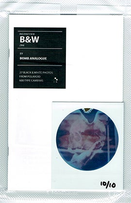 Image of Polaroid Round Frame Zine (special edition) by Bomb Analogue