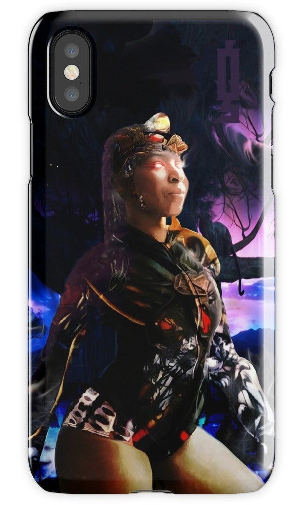 "Image of ""Soul Realm Warrior"" iPhone Tough Case"