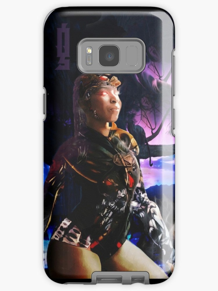 "Image of ""Soul Realm Warrior"" Samsung Galaxy Tough Case"