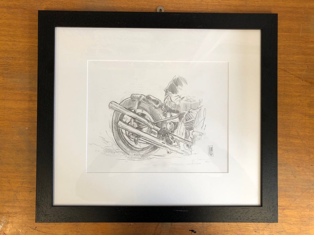 Image of Original framed sketch II