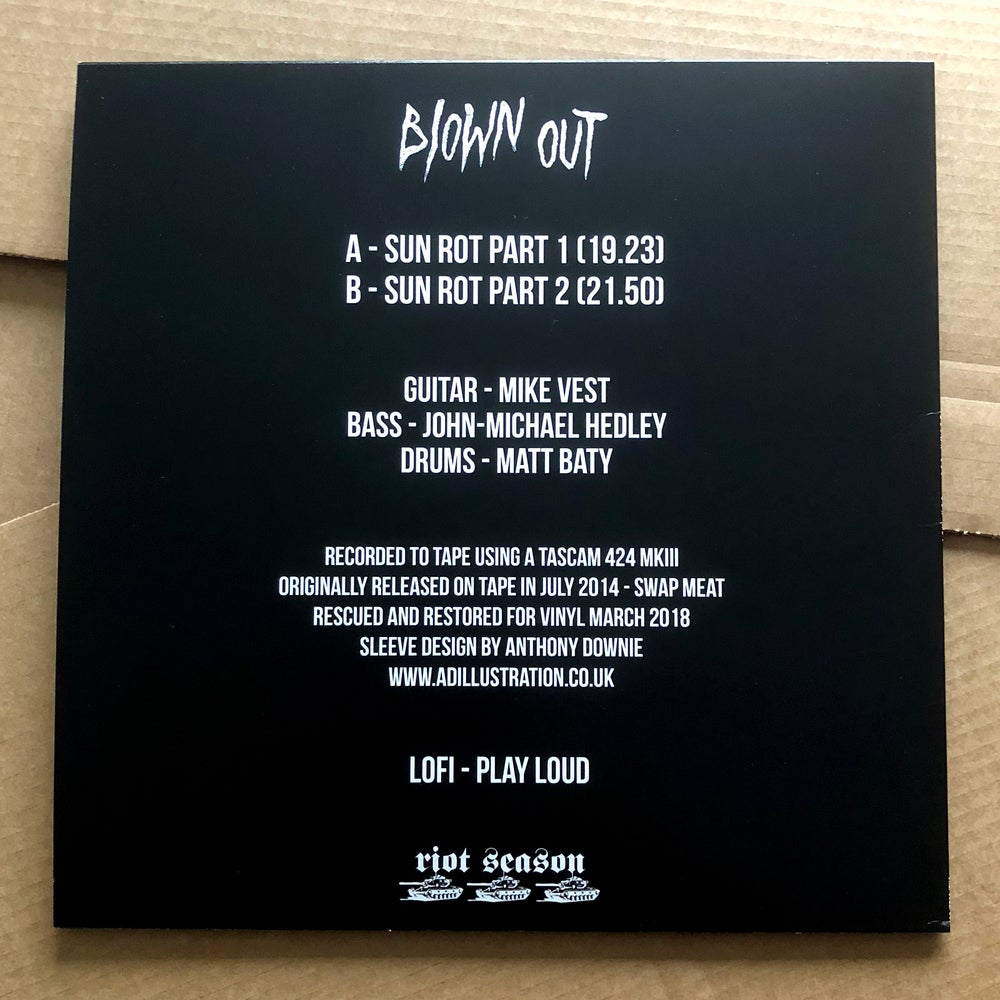 BLOWN OUT 'Sun Rot' Vinyl LP
