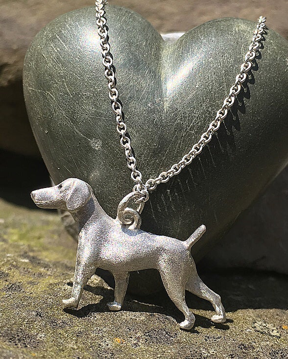 Image of Hunting Dog Pendant