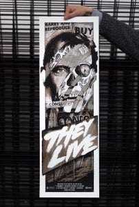 Image of They Live Screen Print