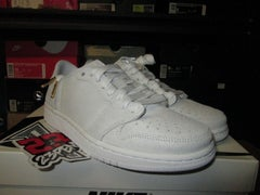 "Air Jordan I (1) Retro Low NS ""White/Metallic Gold"" WMNS - areaGS - KIDS SIZE ONLY"
