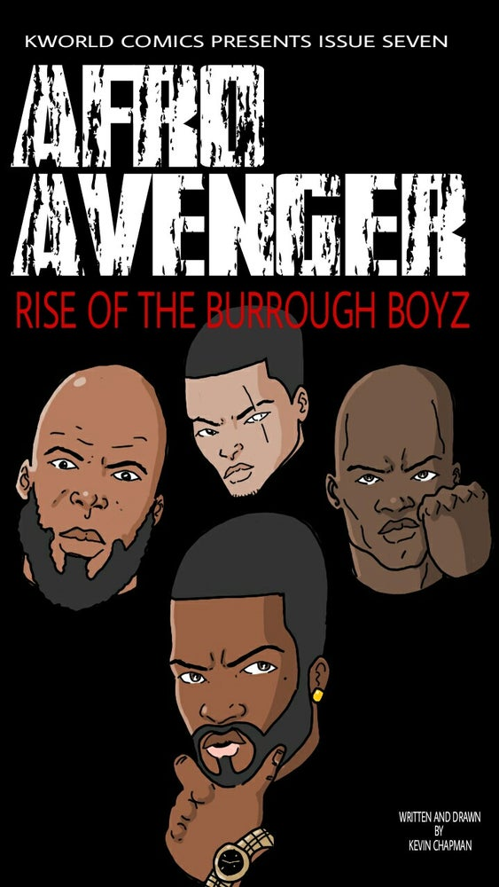 Image of Afro Avenger Issue 7