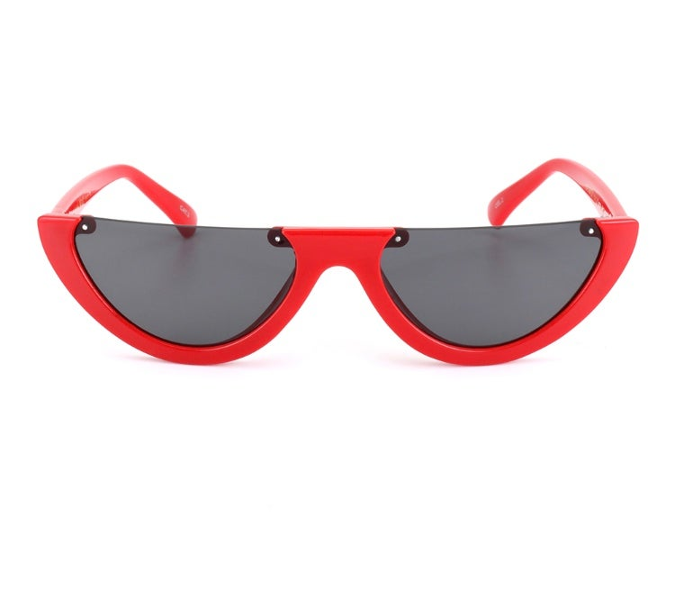 Image of Lisa low red sunnies
