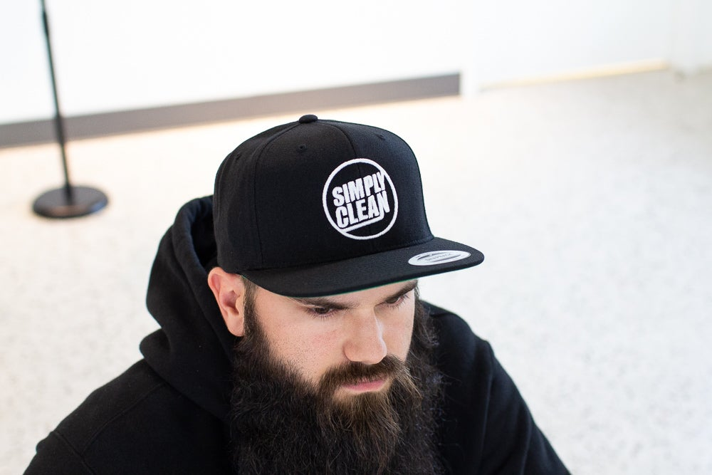 Image of Deconstructed Logo Snapback... Black/White