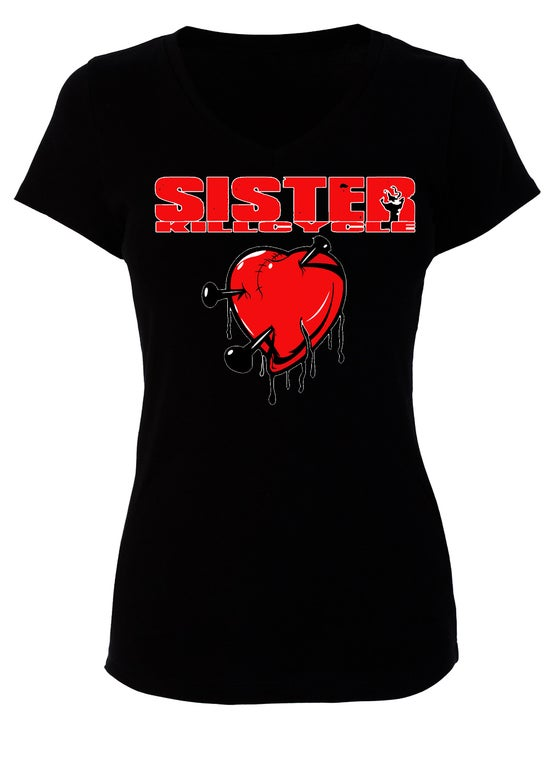 Image of Sister Kill Cycle Broken Heart babydoll