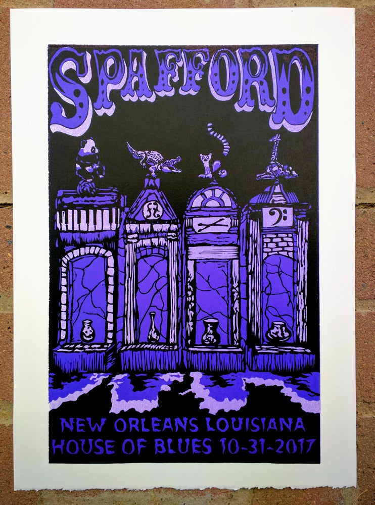 Image of Spafford New Orleans 10-31-2017