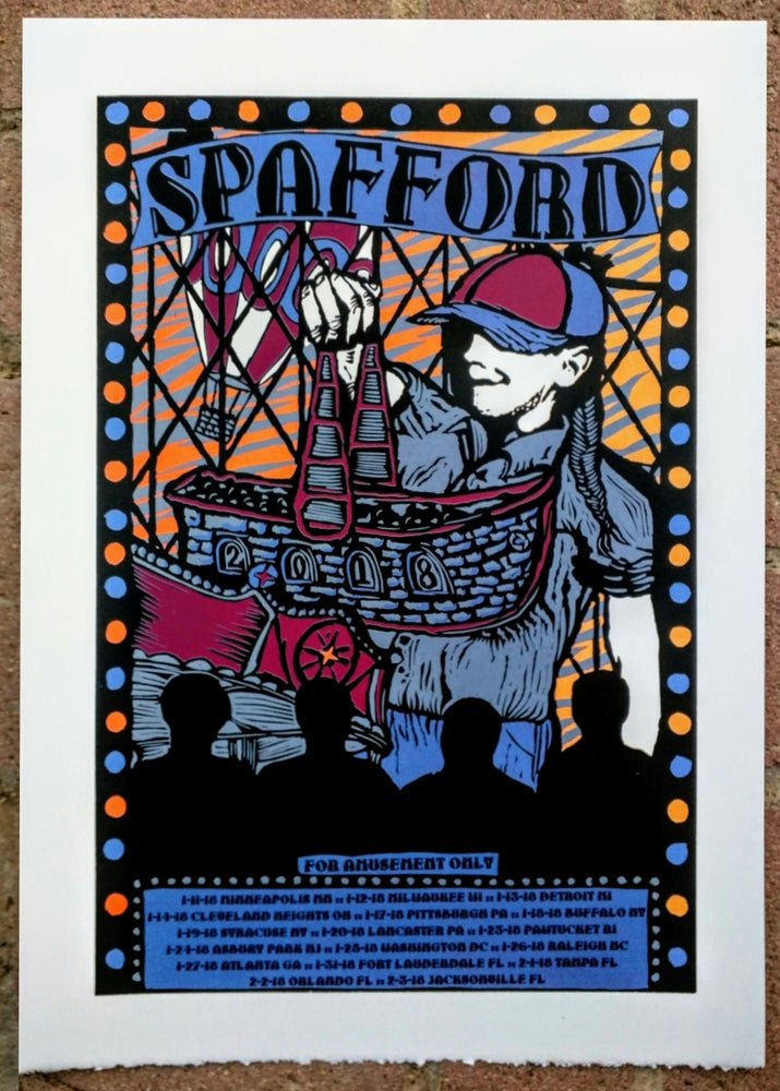 "Image of Spafford ""For Amusement Only Tour"" Leg 1 Version 3"
