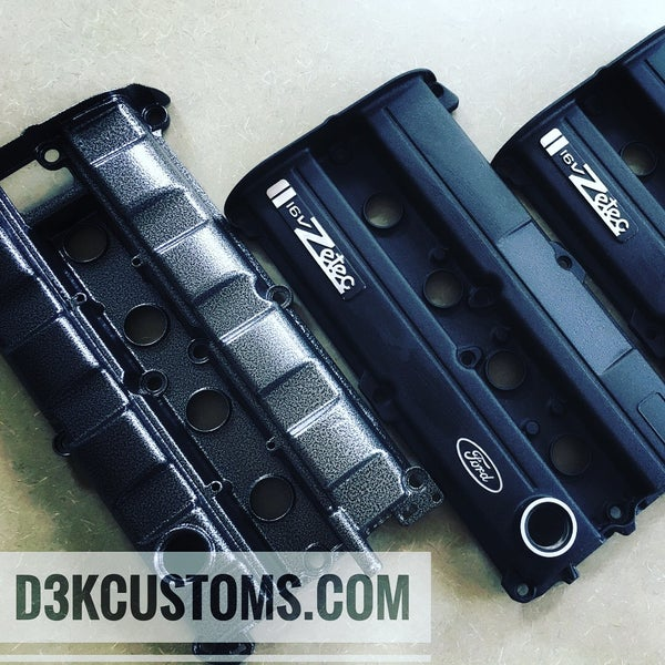Image of Ford SVT Focus Powdercoated Valve Cover Kit