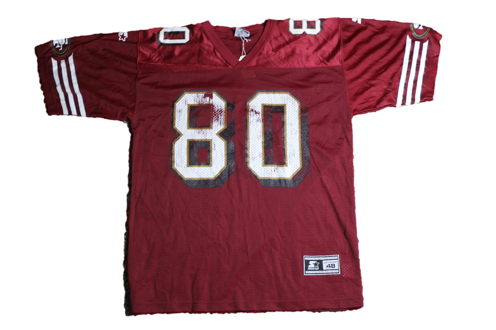 Image of Vintage NFL San Francisco 49ers Jerry Rice #80