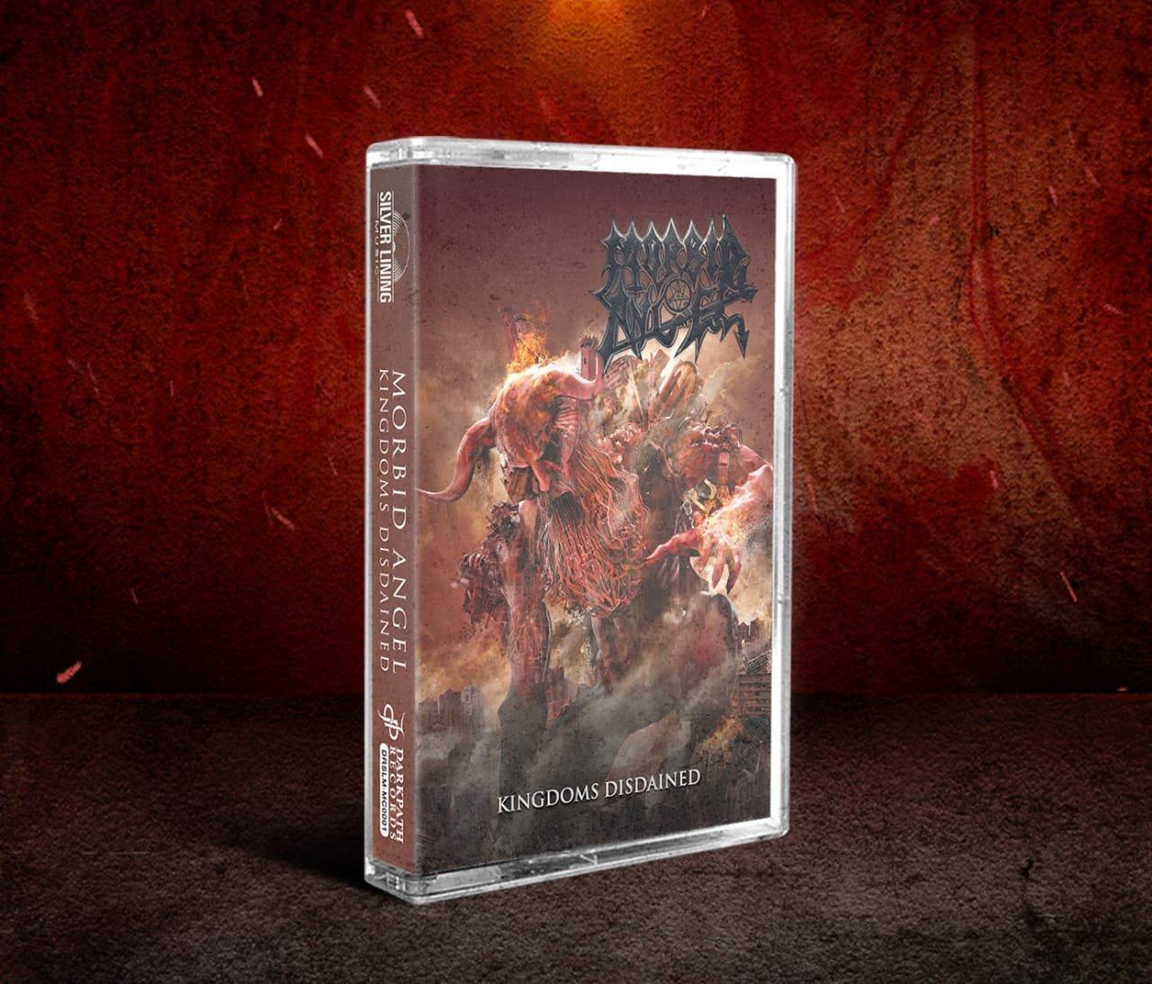 Image of MORBID ANGEL - Kingdoms Disdained CD & Cassette