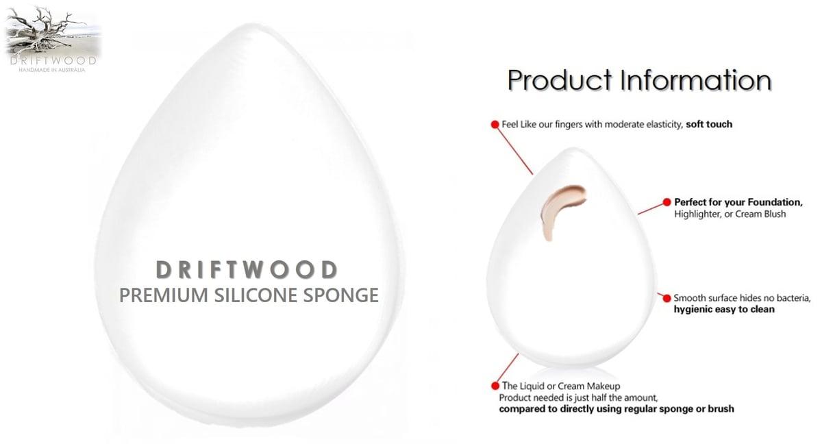 Driftwood Premium Silicone Sponge