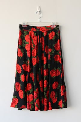 Image of SOLD Plenty Of Roses Sway Skirt