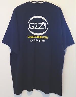 Image of G2Z Black Mens T-shirt Crew Neck
