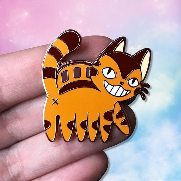 Image of Catbus Booty Hard Enamel Pin