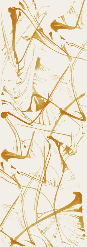Image of Brushstrokes Butterscotch