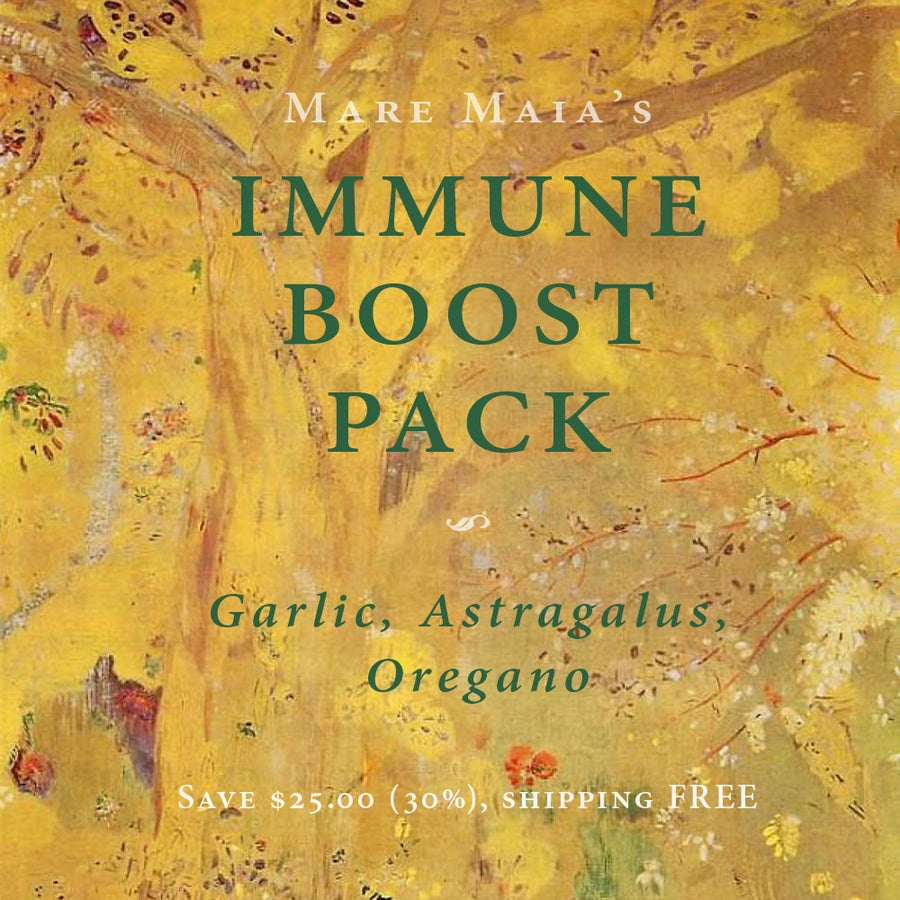 Image of IMMUNE BOOST Pack: Garlic, Astragalus, Oregano