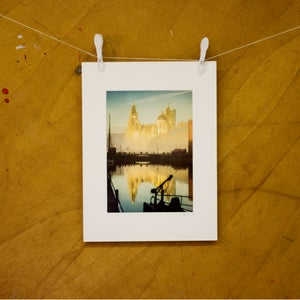 Image of Liverpool Docks Mounted Photograph by Graham Smillie