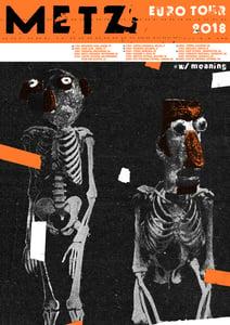 Image of METZ Poster - Euro Tour 2018