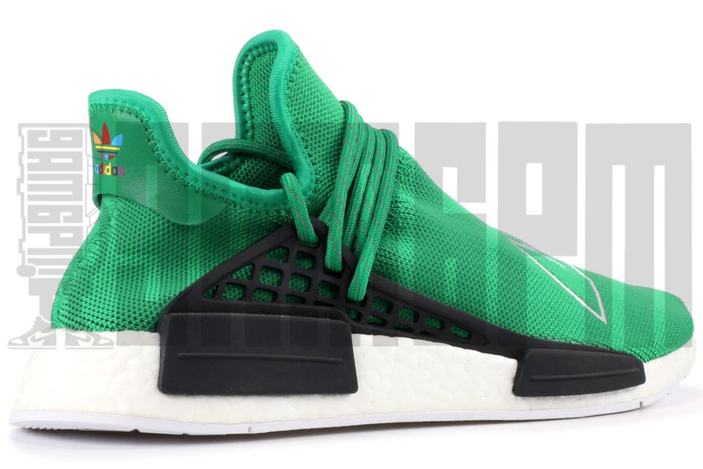 "Image of Adidas PW HUMAN RACE NMD ""GREEN"""