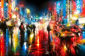 Image of 'Rivers Of Lights' - Limited Edition print