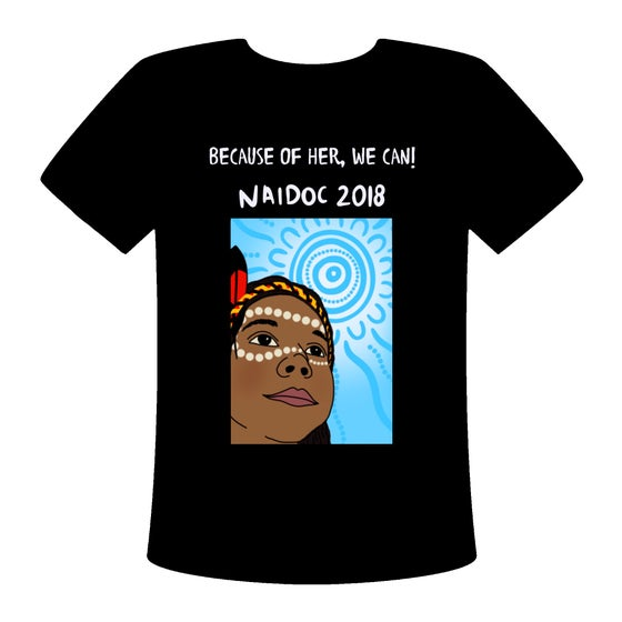 Image of NAIDOC 2018 Shirt Blue