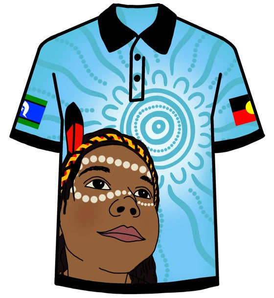 Image of NAIDOC 2018 Polo Blue