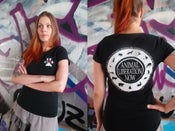 "Image of Women's T-Shirt ""Animal Liberation Now"""