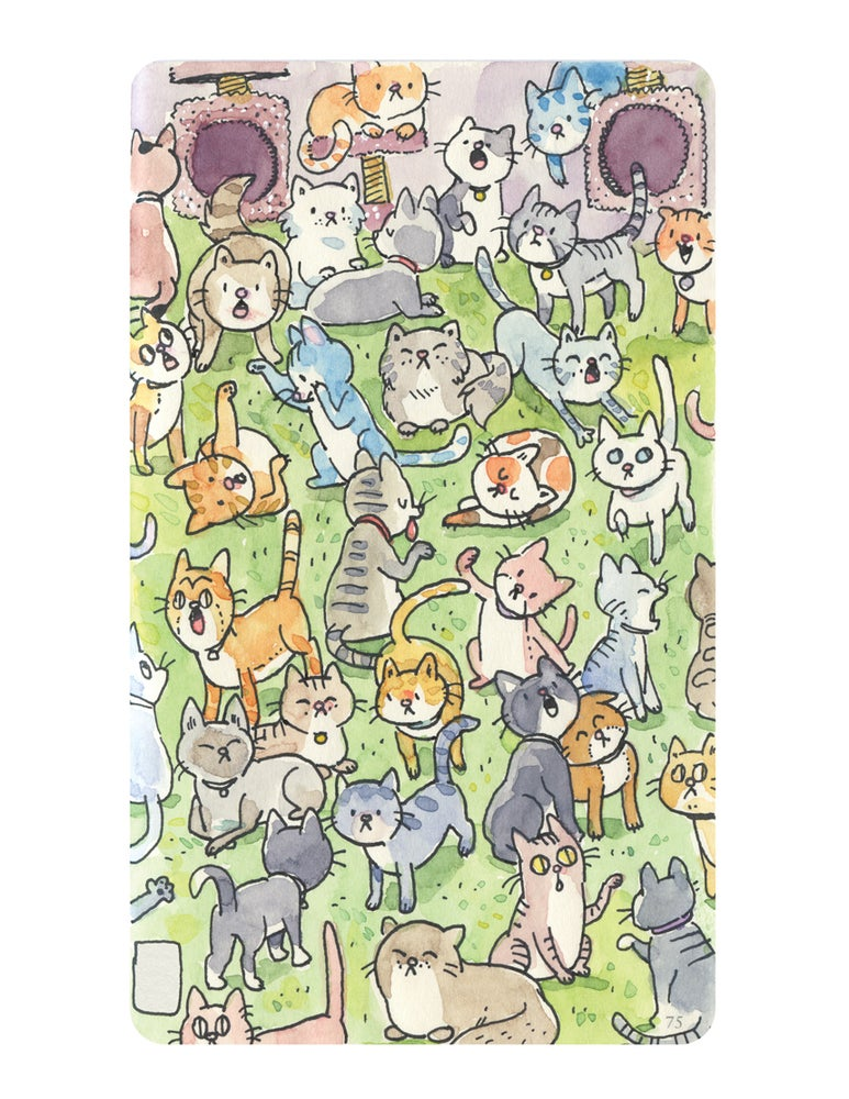 Image of Cats Playtime - Print
