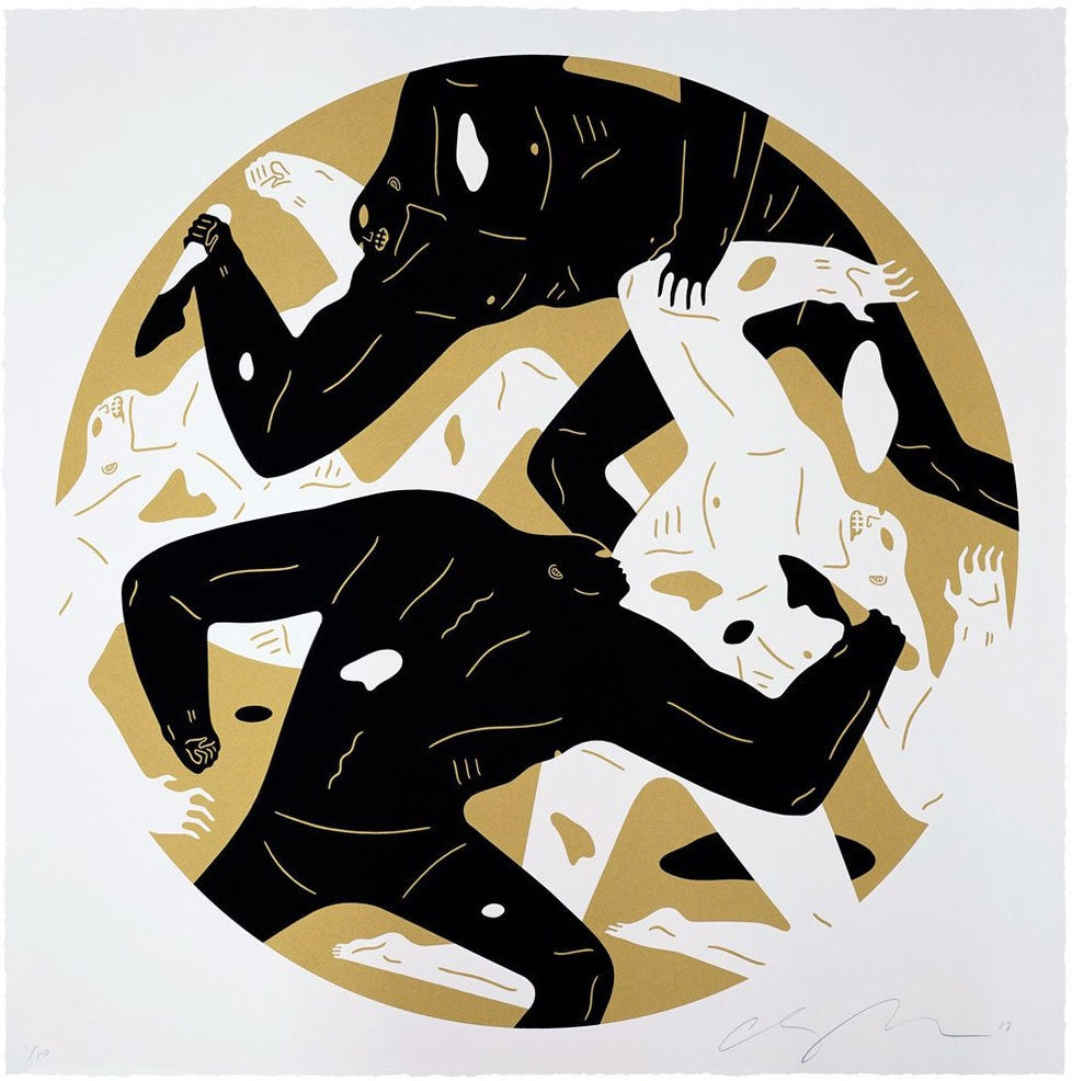 Image of CLEON PETERSON - OUT OF DARKNESS (WHITE)