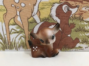Image of VINTAGE KITSCH SMALL PLASTIC DEER
