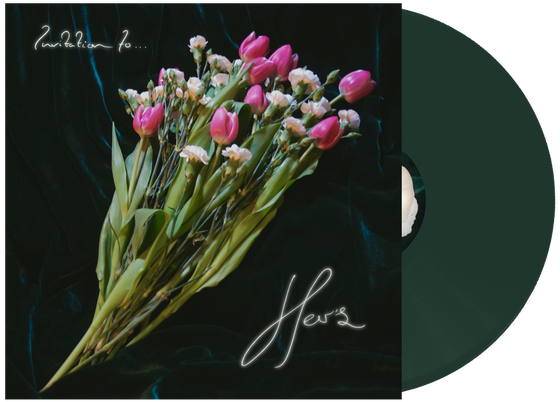 "Image of Her's - 'Invitation To Her's' 12"" Swamp Green Vinyl"