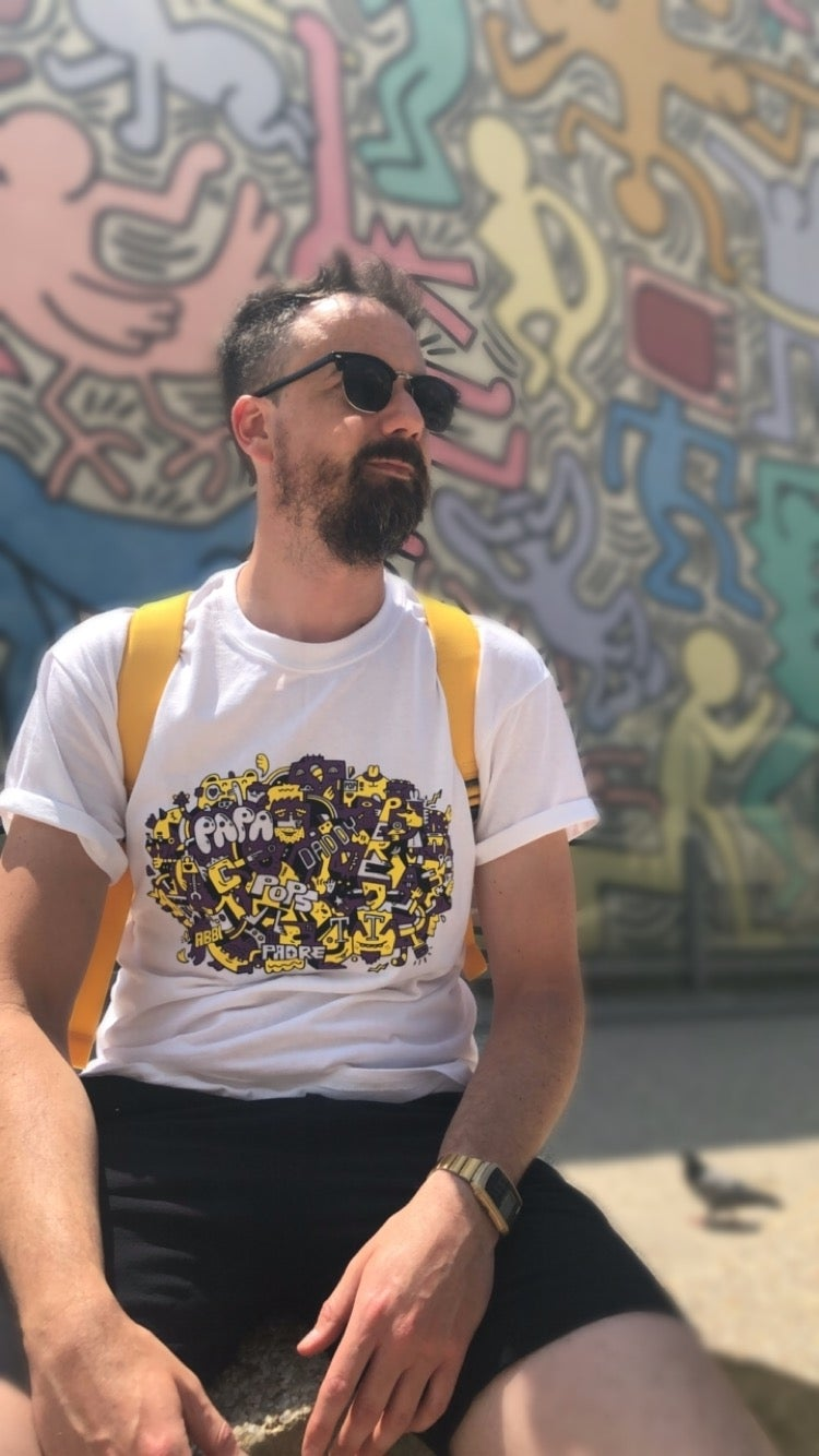 Image of Dads All Over The World Tshirt