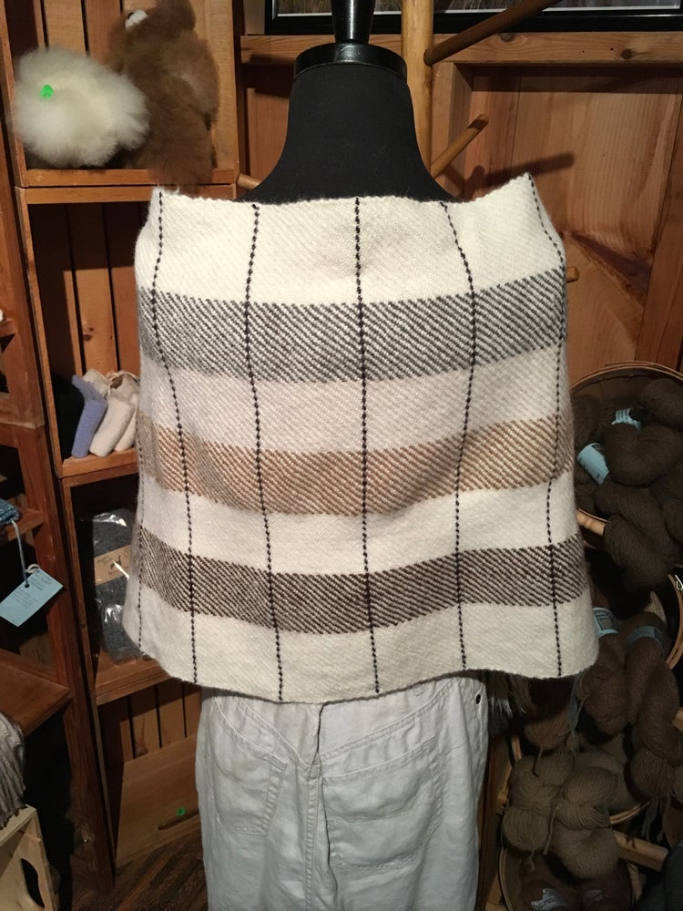 Image of Alpaca Blend Poncho.
