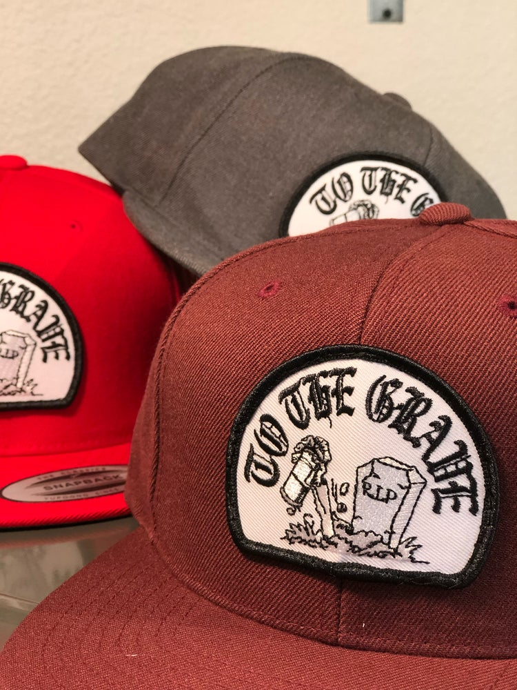 "Leave Your Mark ""To The Grave"" Snap Back Hat"