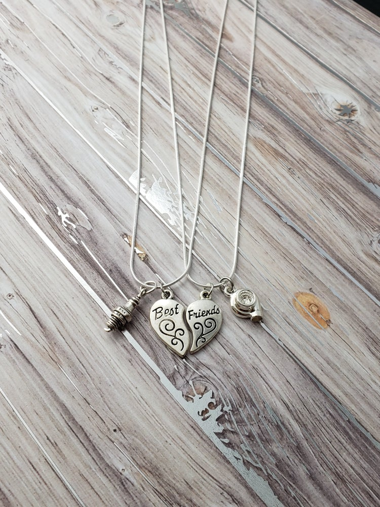 Image of Best Friend Other Half Necklaces