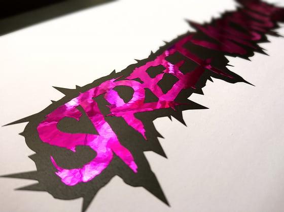 Image of Street Vicious 2-Layer Chrome Slasher - Black/Purple