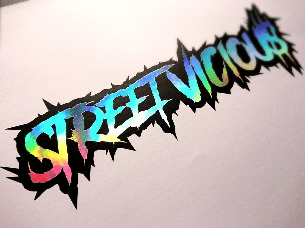 Image of Street Vicious 2-Layer Chrome Slasher - Black/Neo