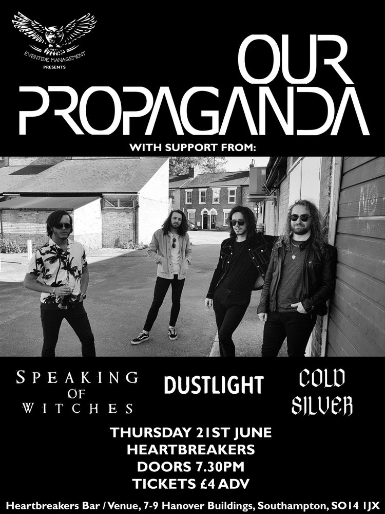 Image of Our Propaganda + support @ Heartbreakers, Southampton