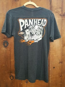 Image of Panhead Kansas Kamakura Blue Groove & Lawrence Vintage Cycle Collaboration Unisex Shirt