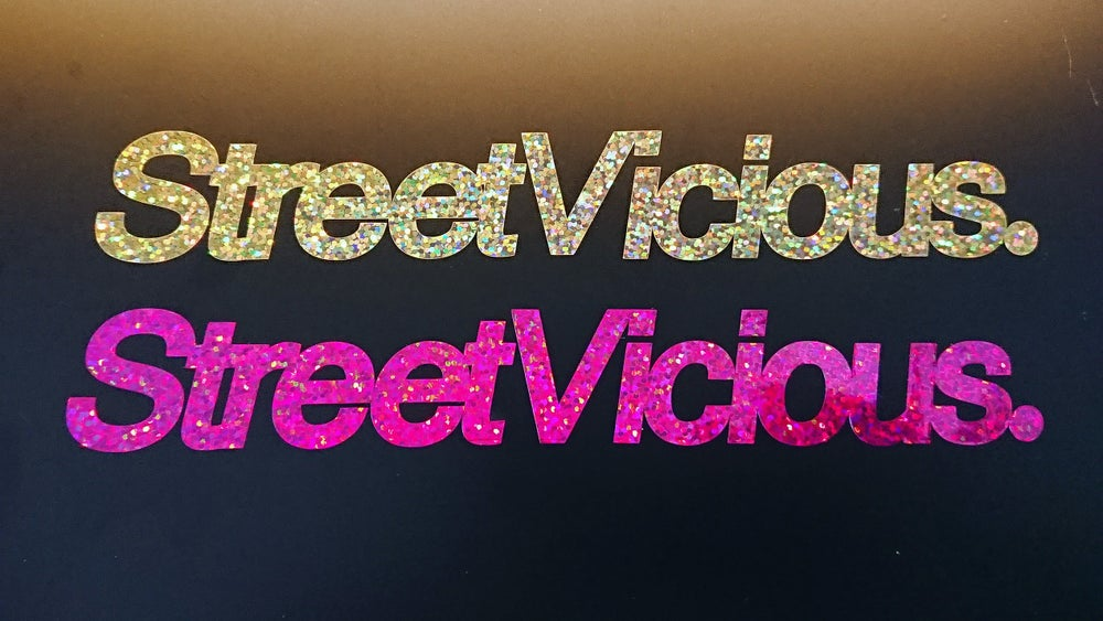 "Image of Street Vicious Simple - 8"" Glitter"